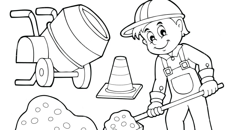 Construction Coloring Pages At Getdrawings Com Free For Personal