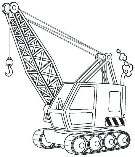 456x531 Construction Coloring Page Construction Construction Machine