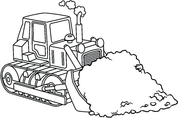 600x398 Construction Coloring Pages Construction Coloring Pages Image