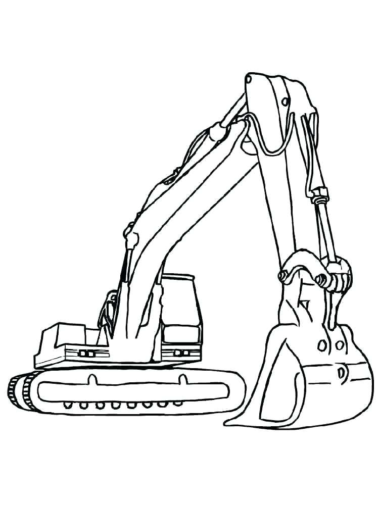 750x1000 Construction Coloring Pages Construction Vehicles Coloring Pages