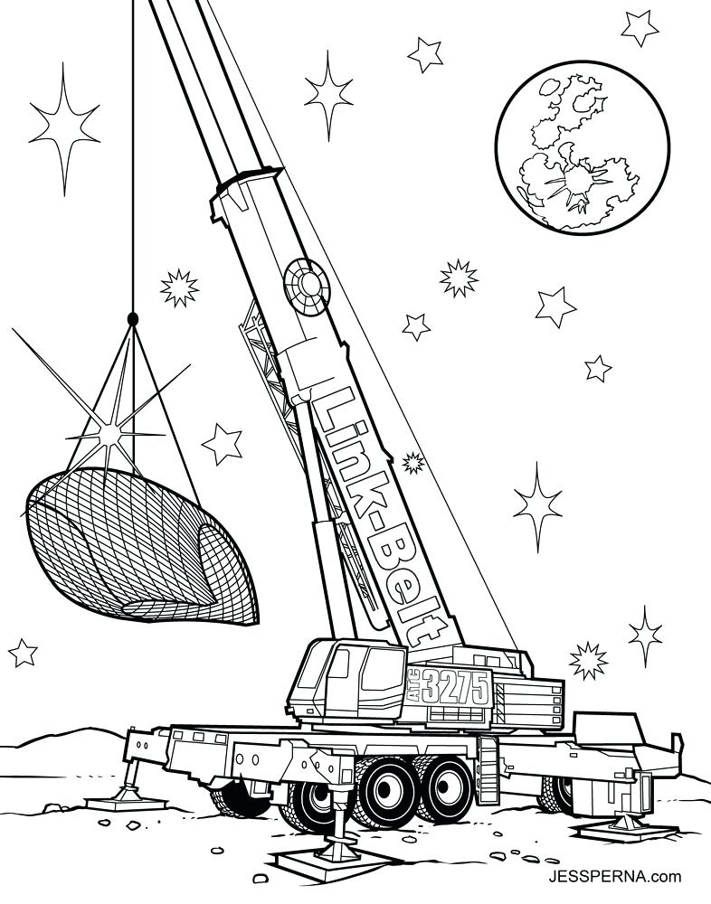 786x1000 Construction Truck Coloring Pages Car Truck Drag Racer Spaceship