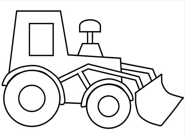 600x450 Construction Vehicles Coloring Pages Drawing Construction Truck