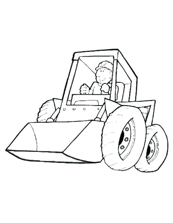 670x866 Construction Coloring Page