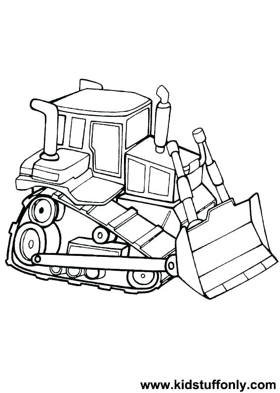 567x794 Bulldozer Coloring Pages Construction Equipment Coloring Pages