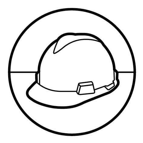 Construction Hat Coloring Page