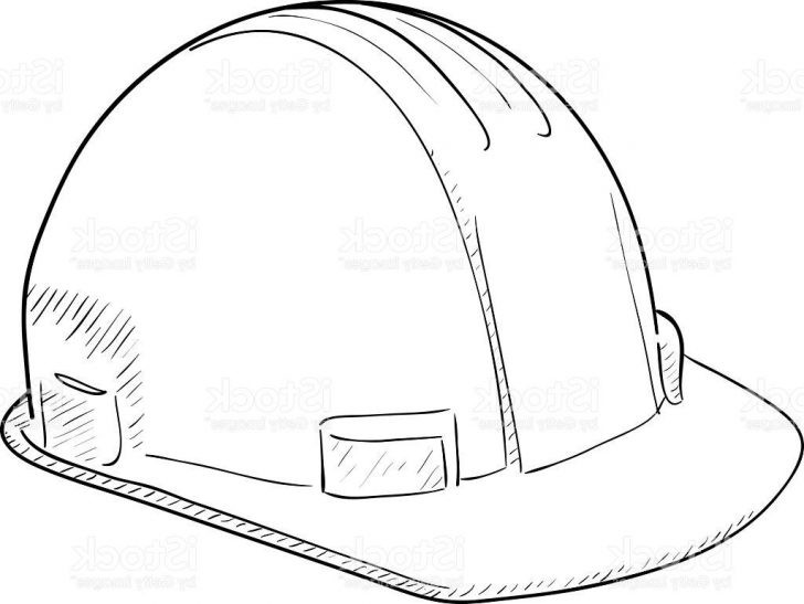 728x547 Construction Hat Coloring Page Inspirational Hard Hat Coloring