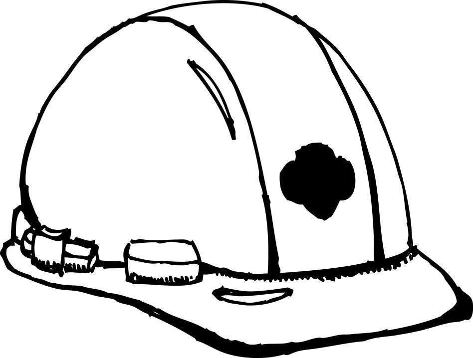 948x718 Construction Hat Coloring Page Luxury Hard Hat Coloring Page
