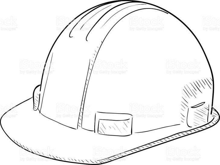 728x547 Construction Hat Coloring Pages Inspirational Hard Hat Coloring