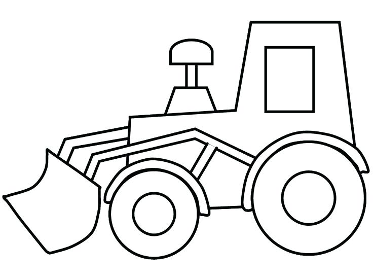 736x552 Construction Machine Coloring Pages Drawing Construction Truck