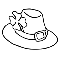 230x230 Top Hat Coloring Pages