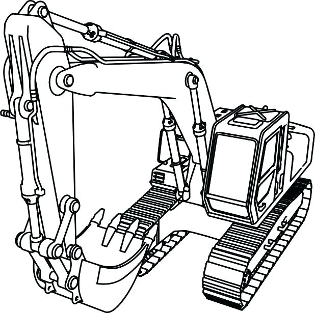 618x615 Construction Signs Coloring Pages Free Construction Coloring Pages