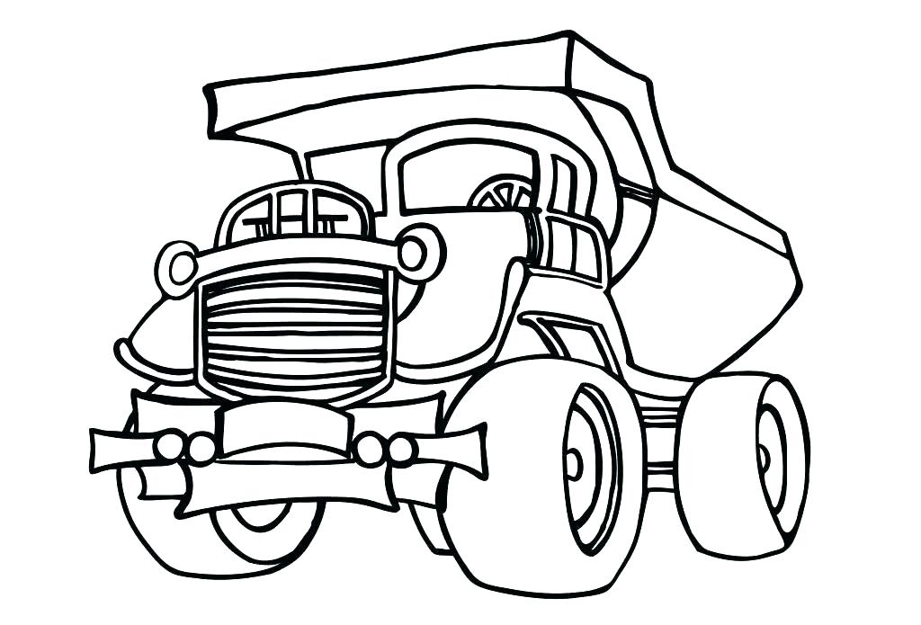 1024x695 Cement Mixer Coloring Page Construction Worker Coloring Page