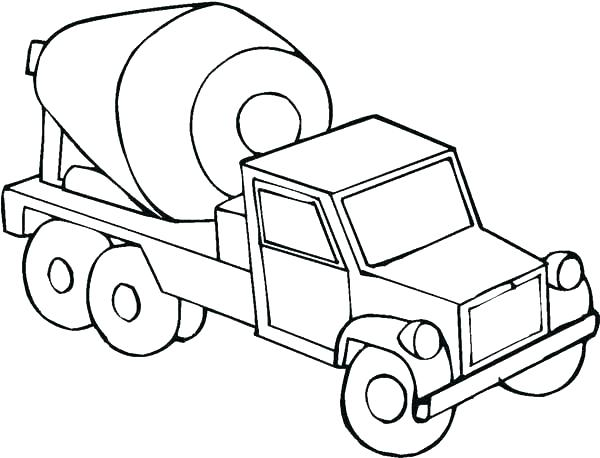 Construction Truck Coloring Pages At Getdrawings Com Free For