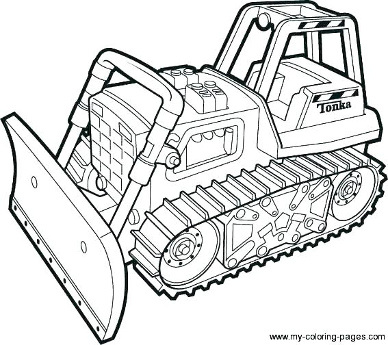 567x504 Construction Truck Coloring Pages Construction Vehicles Coloring