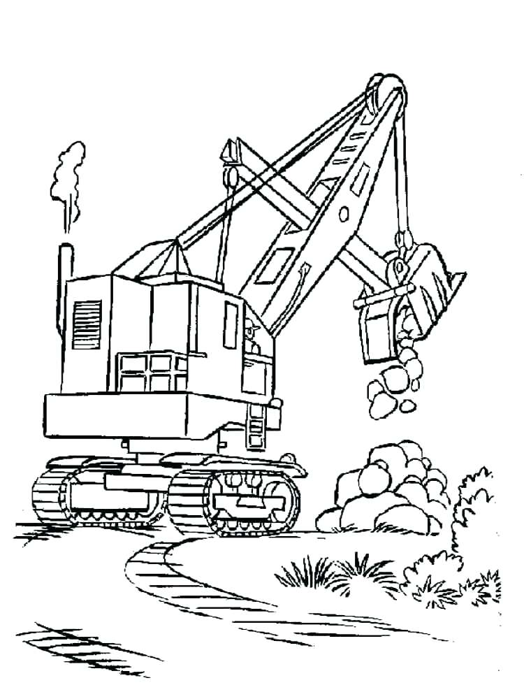 750x1000 Construction Trucks Coloring Pages Printable Kids Coloring