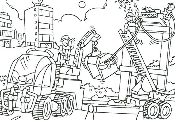 600x413 Construction Vehicles Coloring Pages Elegant Construction Truck