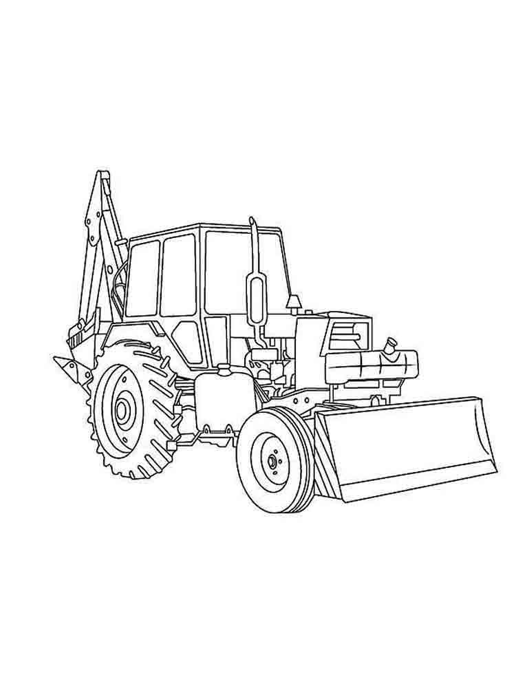 750x1000 Construction Vehicles Coloring Pages Download And Print