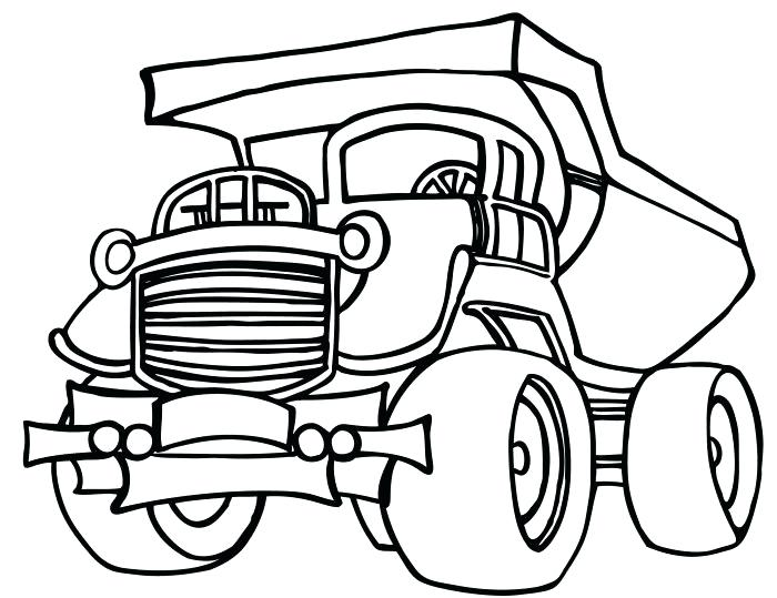 700x539 Construction Truck Coloring Pages