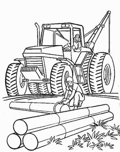236x300 Construction Trucks Coloring Pages Crafts And Kids
