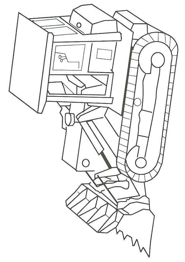 595x842 Construction Worker Coloring Pages