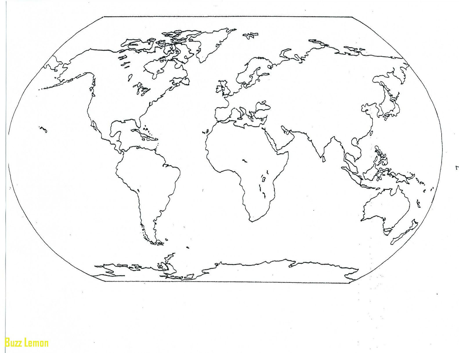 1582x1218 Continents Coloring Page Beautiful Map Buzz