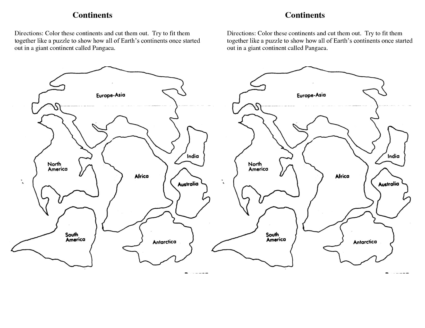 1650x1275 Insider Continent Coloring Pages Continents In Page Studynow Me
