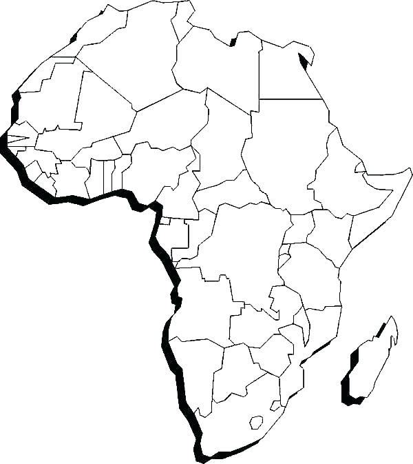 600x673 Printable Continents To Cut Out With Cut Out Continents Coloring