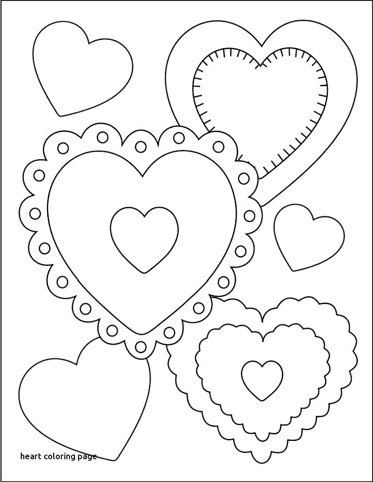 736x951 Valentine Hearts Coloring Pages Ing S S Ing S Valentine Candy