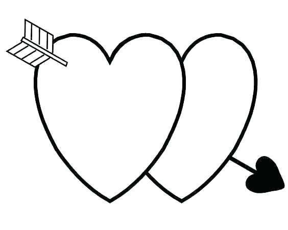 564x451 Valentine Hearts Coloring Pages Valentine Hearts To Color Heart