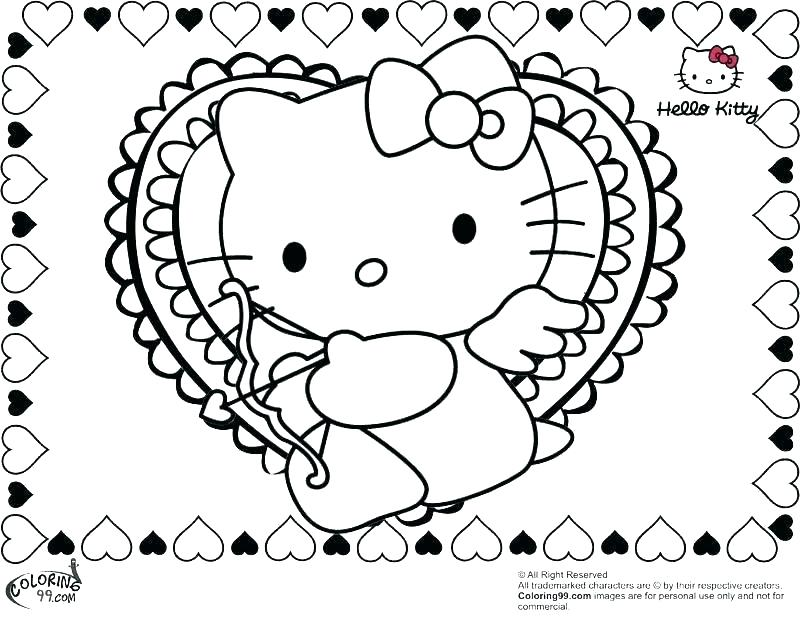800x620 Valentine Hearts Coloring Pages Coloring Ideas Pro