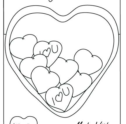 432x425 Conversation Hearts Coloring Pages Chocolate Candy Coloring Pages