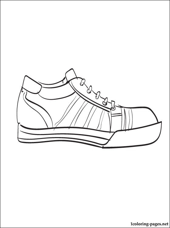 Converse Coloring Page