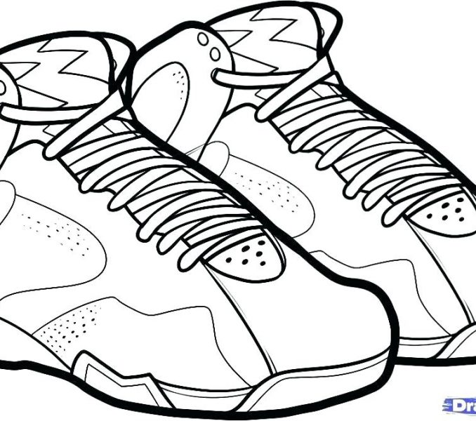 678x600 Coloring Shoes World Coloring Page Coloring Pages