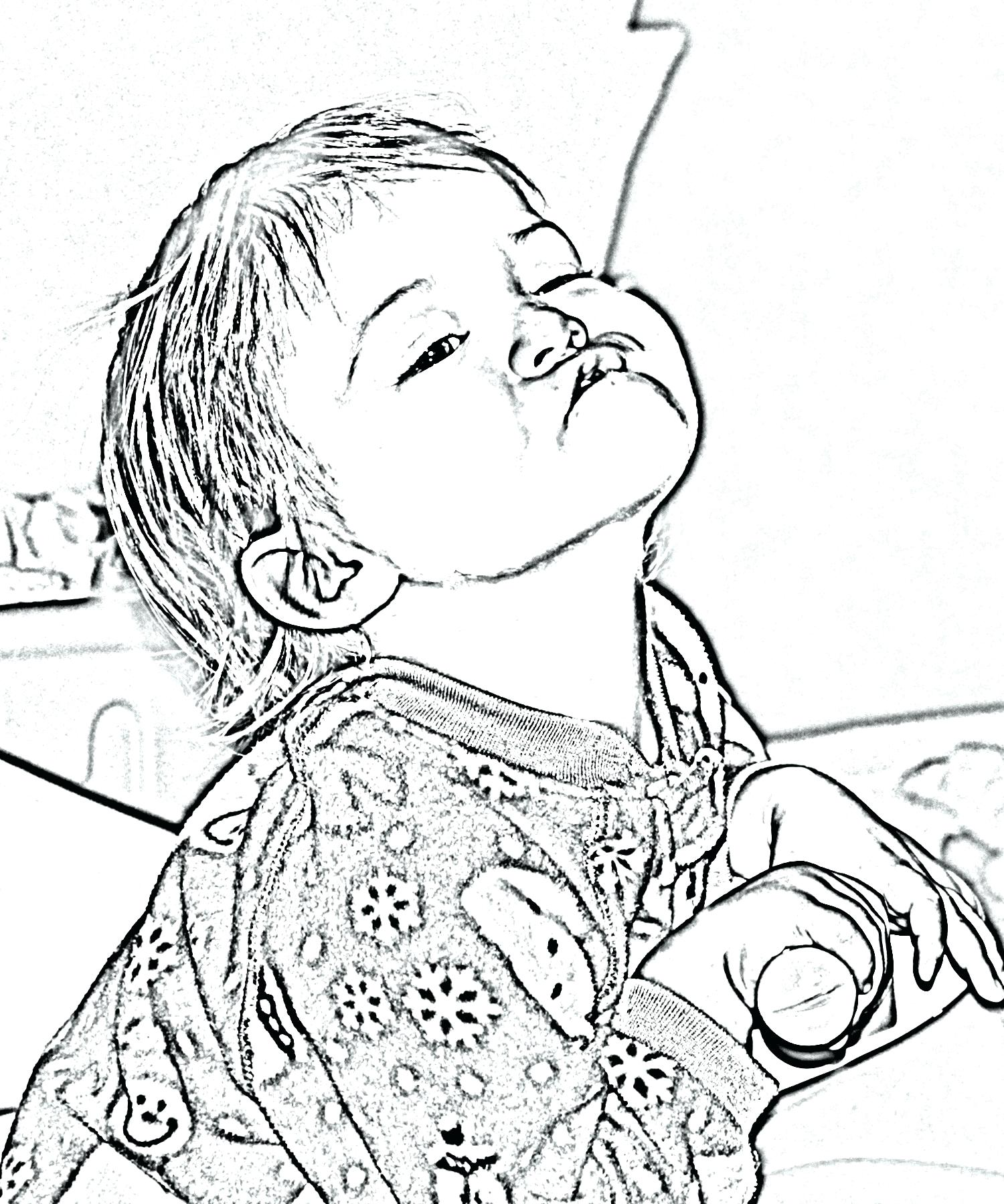 1500x1800 Convert Photo To Coloring Page Free