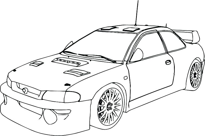 800x531 Free Race Car Coloring Pages Classic Convertible Car Coloring Page