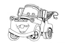 210x140 Convertible Car Coloring Pages