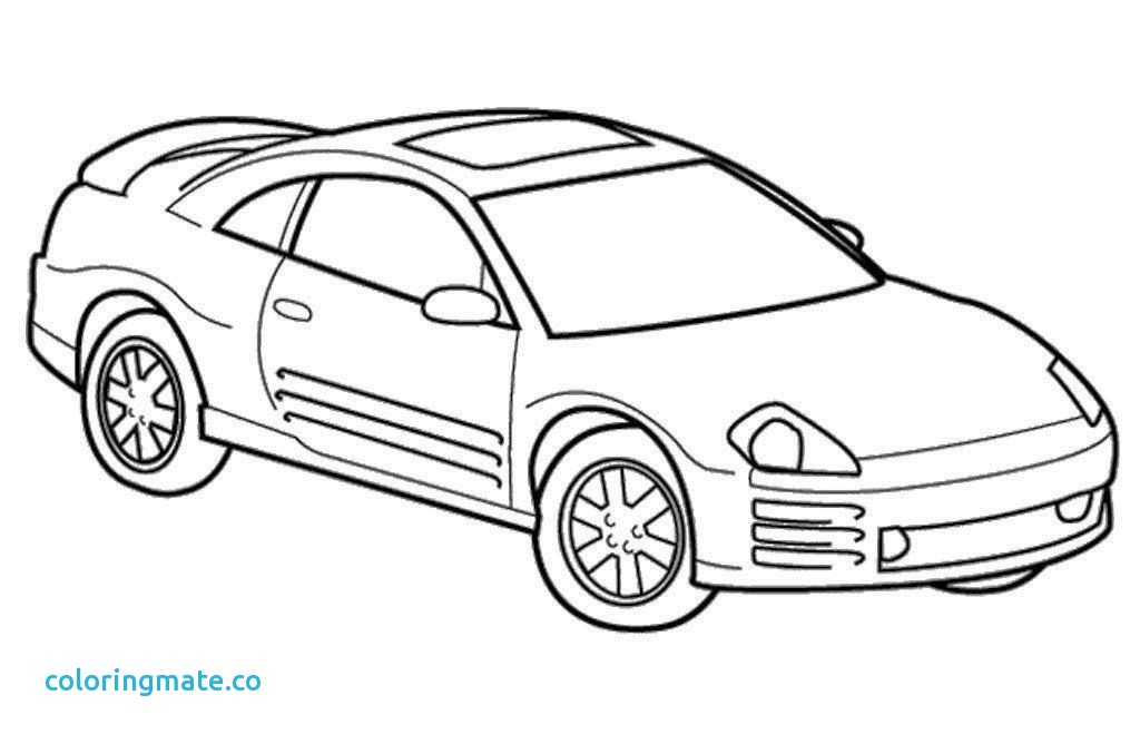 1024x668 Mustang Coloring Pages Luxury Mustang Convertible Coloring Page