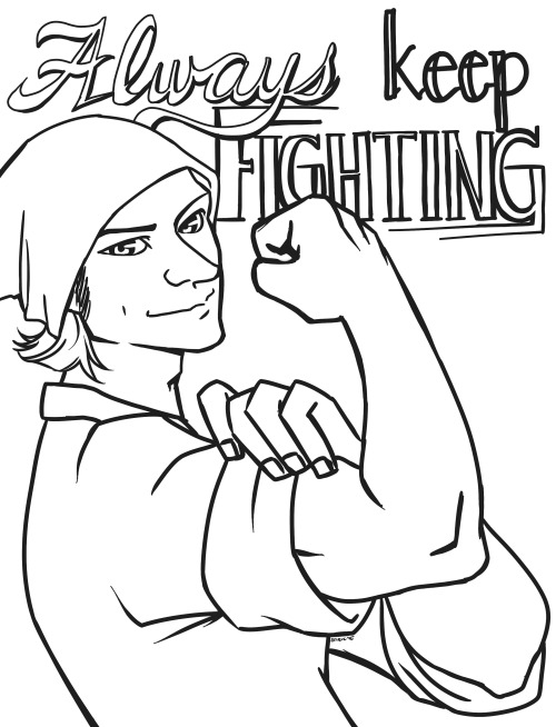 Cookbook Coloring Pages