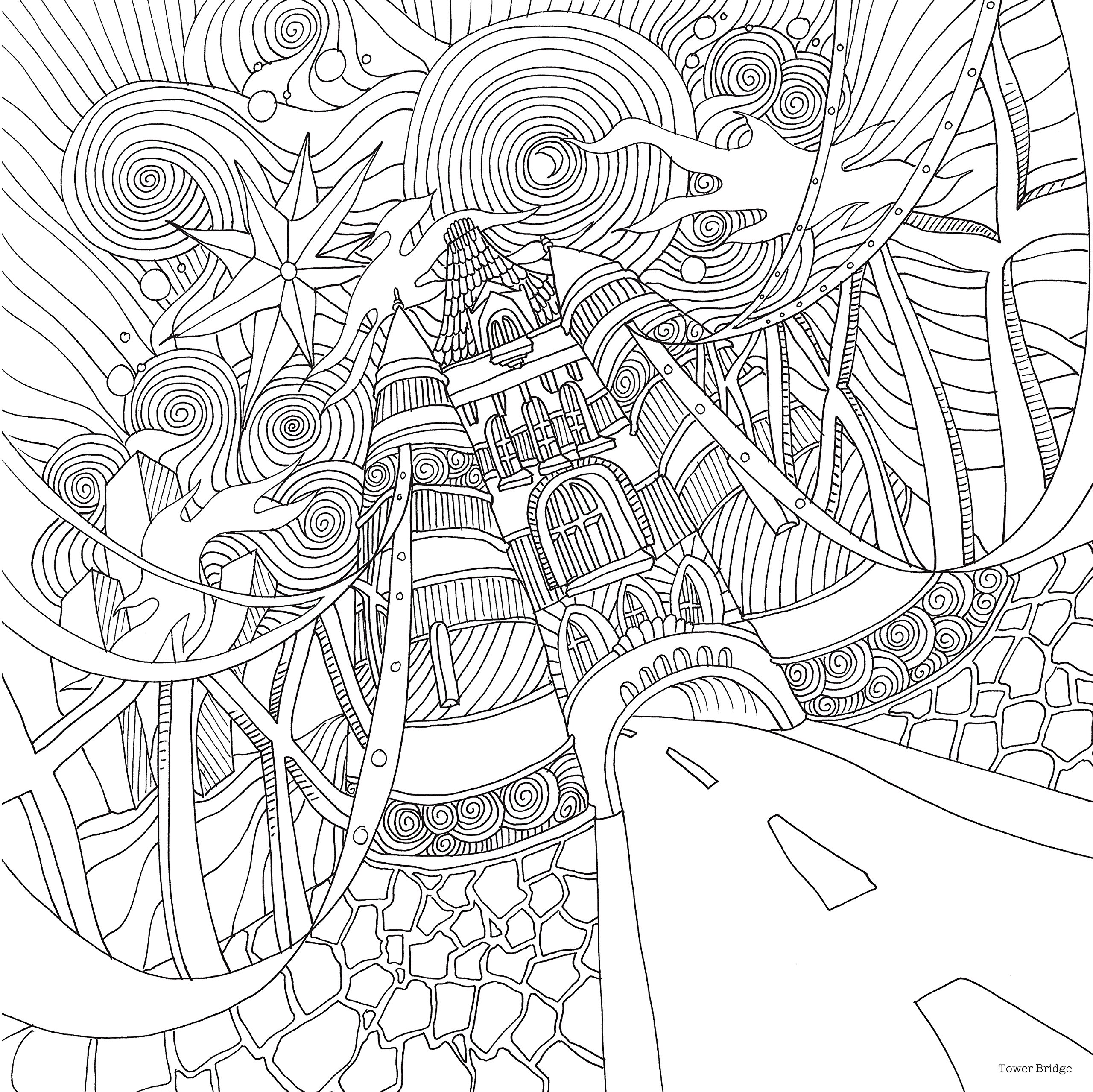 2560x2557 Portfolio Just Add Magic Coloring Pages Amazon Com The Magical