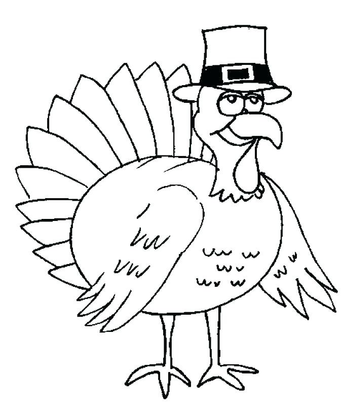675x813 Free Printable Turkey Turkey Head Coloring Page Turkey Color Pages