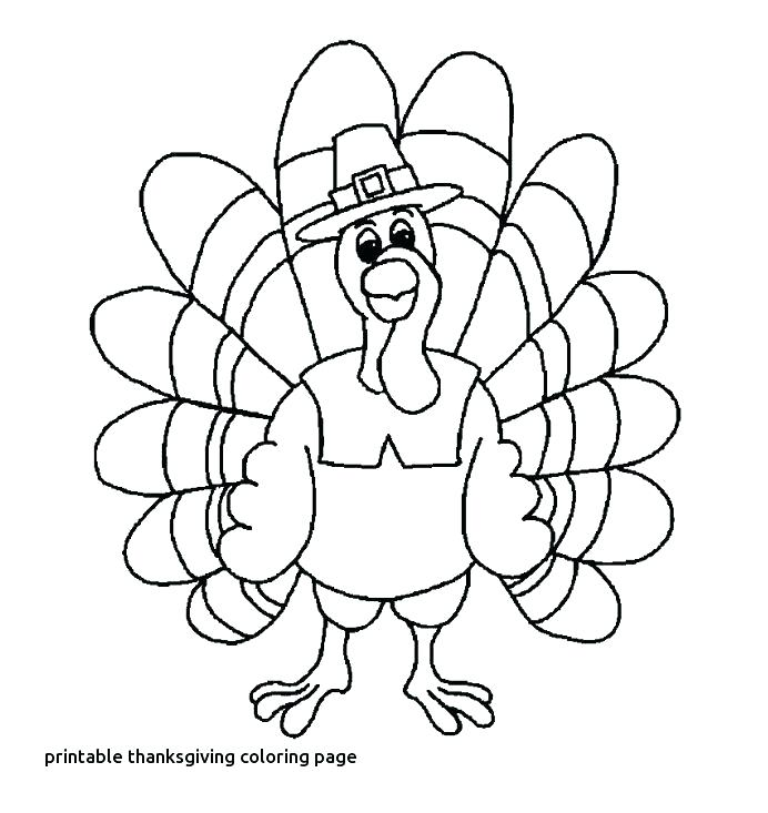 692x733 Coloring Page Of A Turkey Coloring Page Turkey Coloring Pages