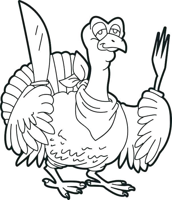 603x700 Coloring Page Turkey Coloring Page Turkey Cooked Turkey Coloring