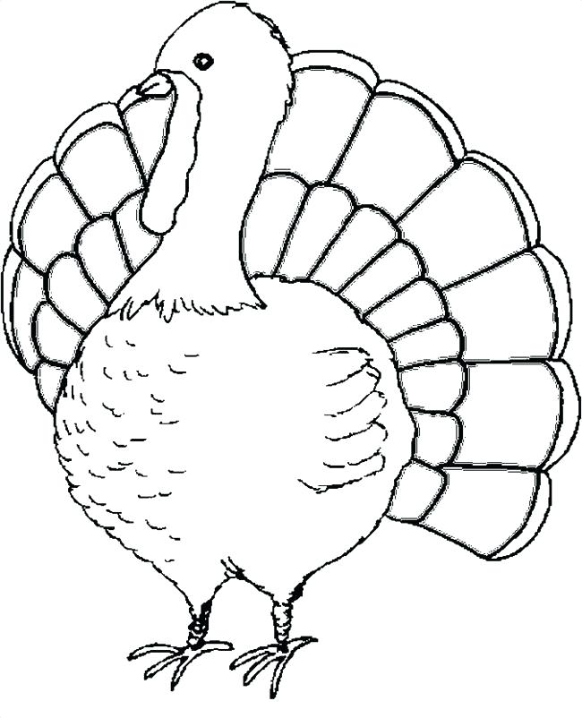 650x802 Coloring Page Turkey Cooked Turkey Coloring Page Free