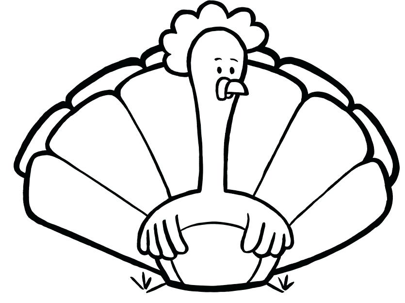 835x624 Coloring Page Turkey Unique Turkey Coloring Pages Ideas