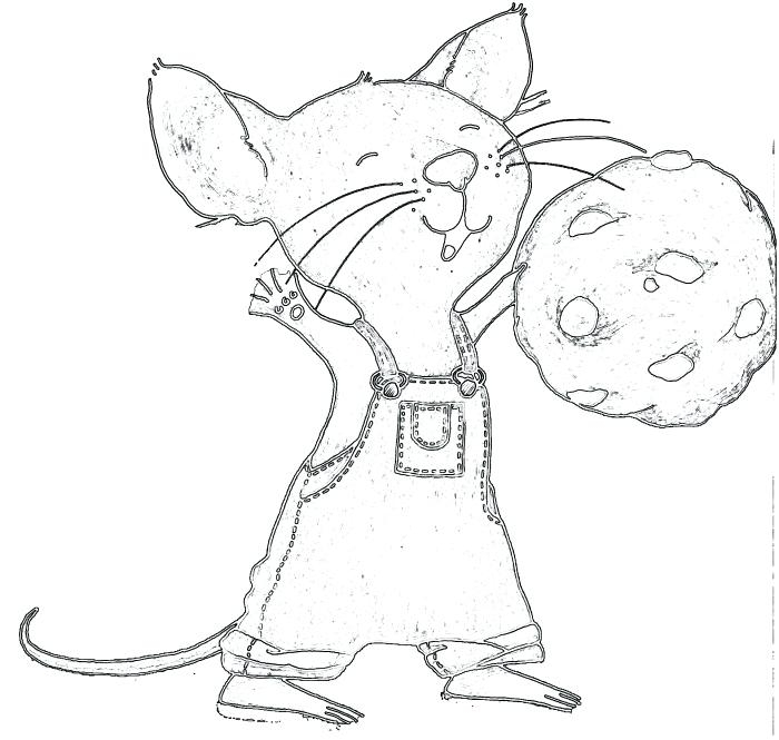 700x665 If You Give Mouse Cookie Printable Coloring Page If You Give