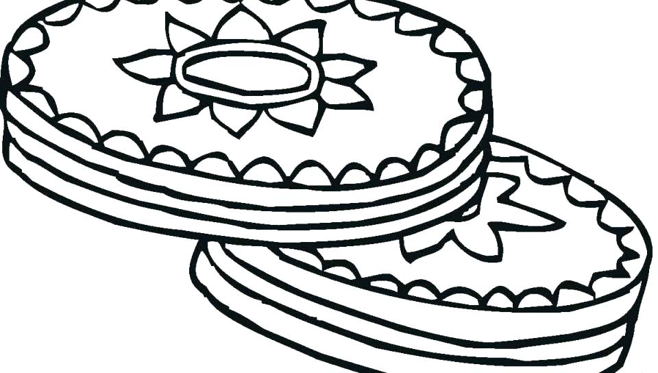 Cookie Jar Coloring Page At Getdrawings Com