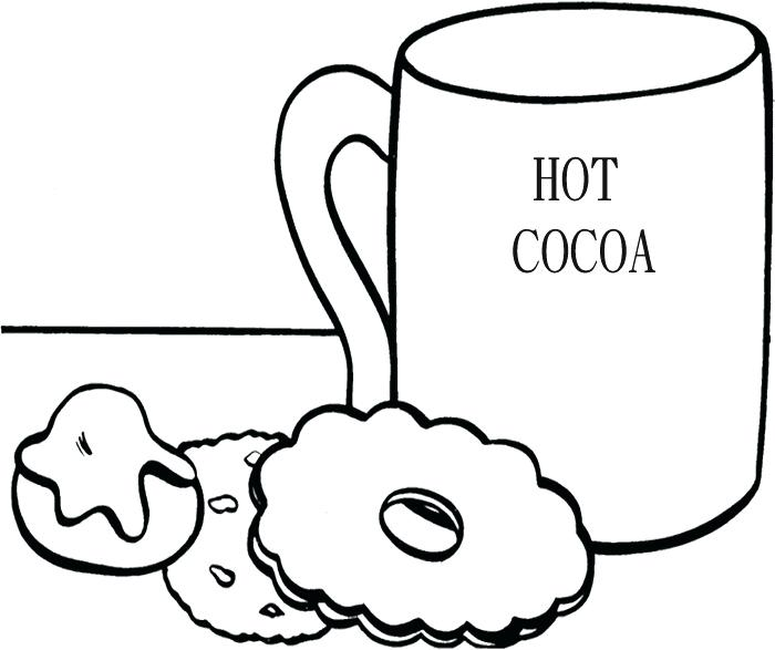 700x587 Cookie Coloring Page