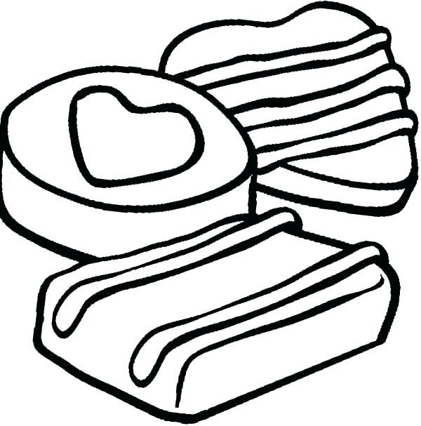 600x607 Cookie Coloring Page S Cookie Jar Coloring Page