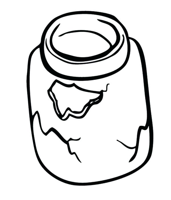 600x701 Cookie Coloring Pages Broken Cookie Jar Coloring Pages Bulk Color