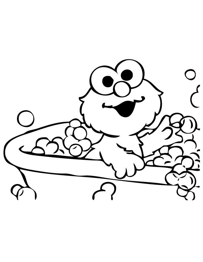 Cookie Monster And Elmo Coloring Pages at GetDrawings.com ...